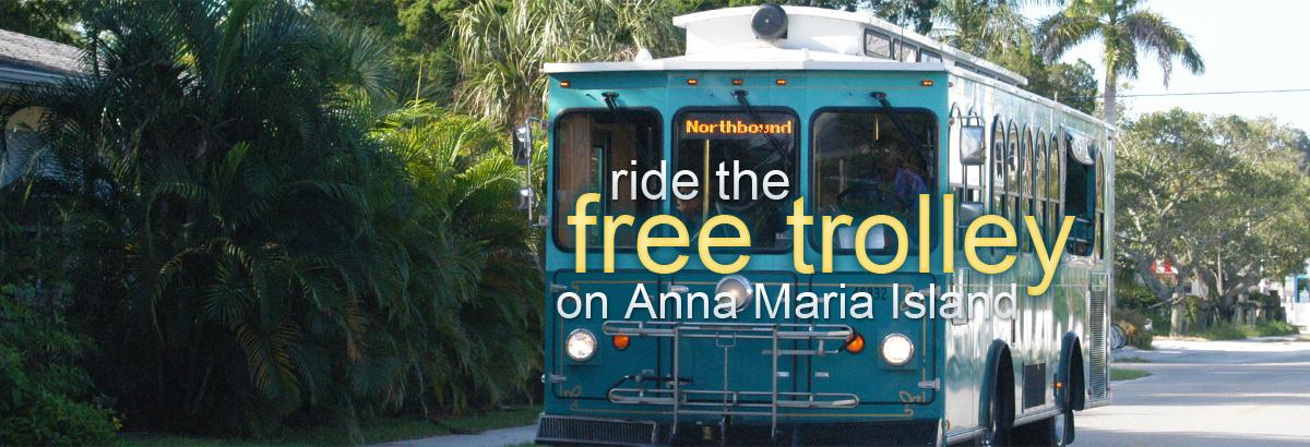 Anna Maria Island Free Trolley