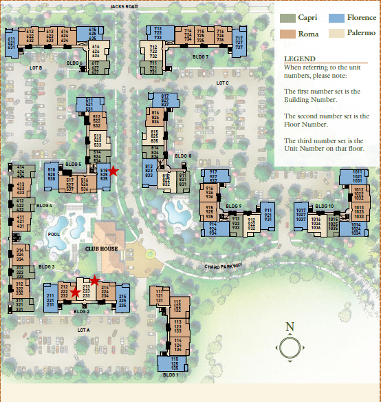 Bella Piazza Site Plan