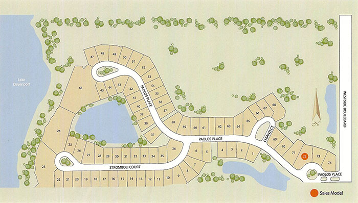 Calabria at Westside, Kissimmee Site Plan