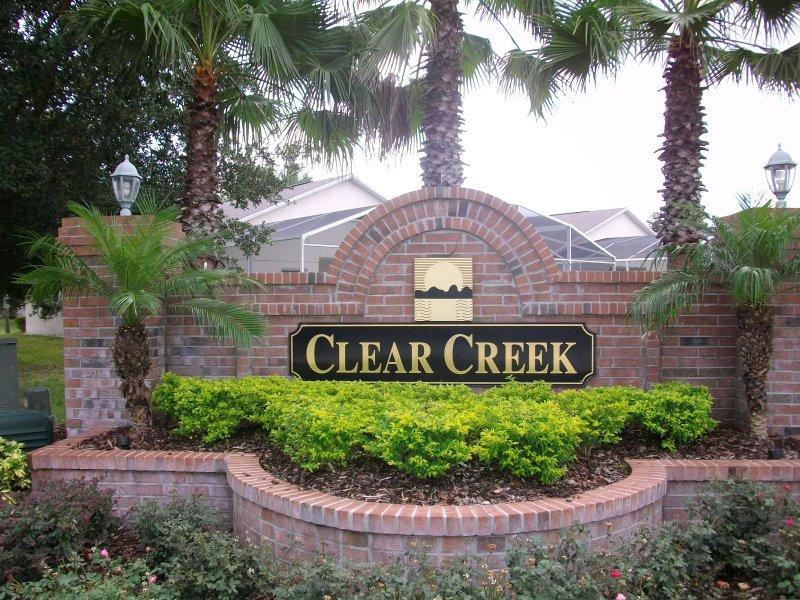 Clear Creek Entrance