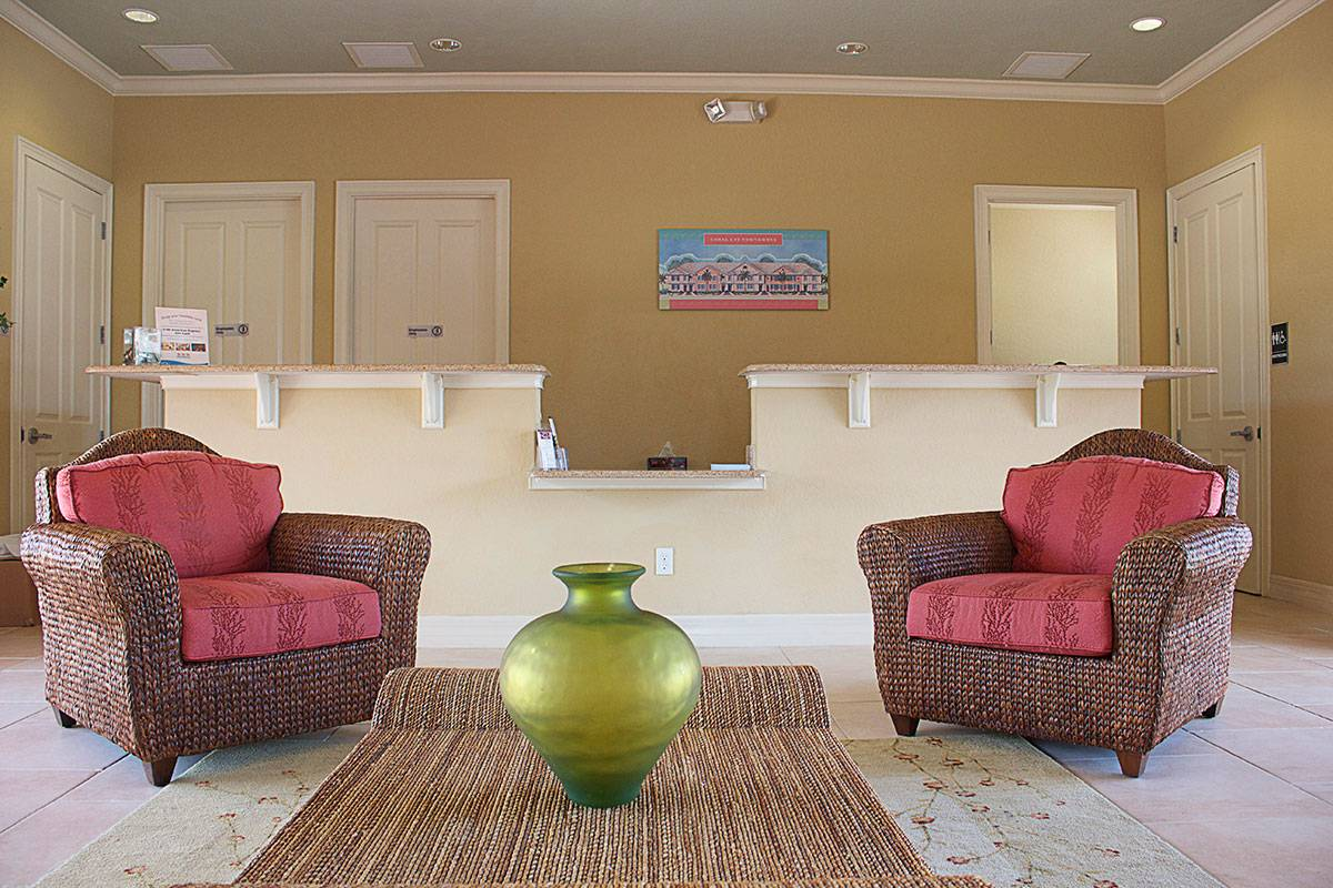 Coral Cay Resort Clubhouse Lounge