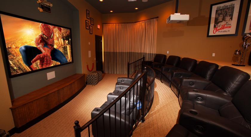 Coral Cay Resort Movie Theatre