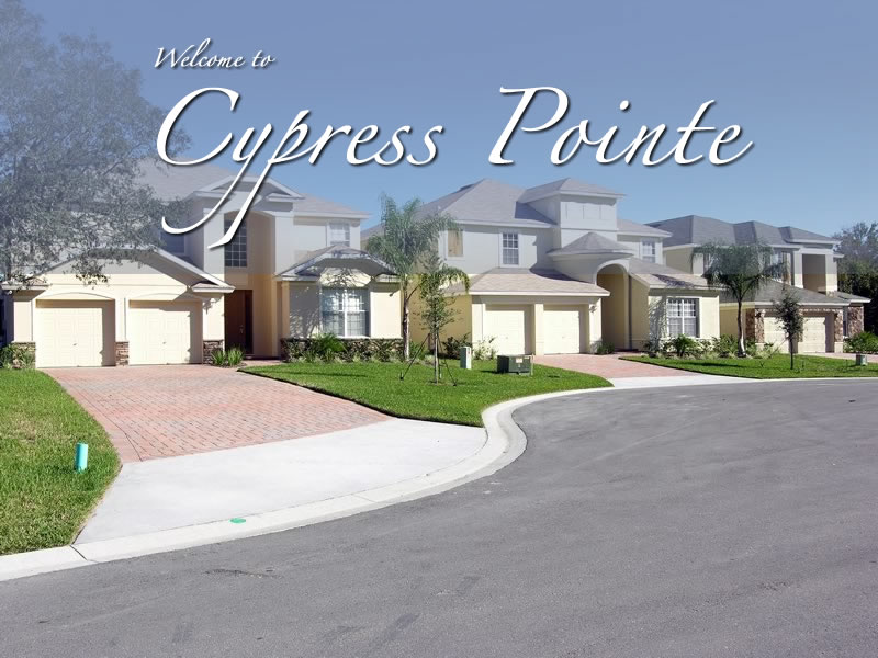 Cypress Pointe Davenport Orlando