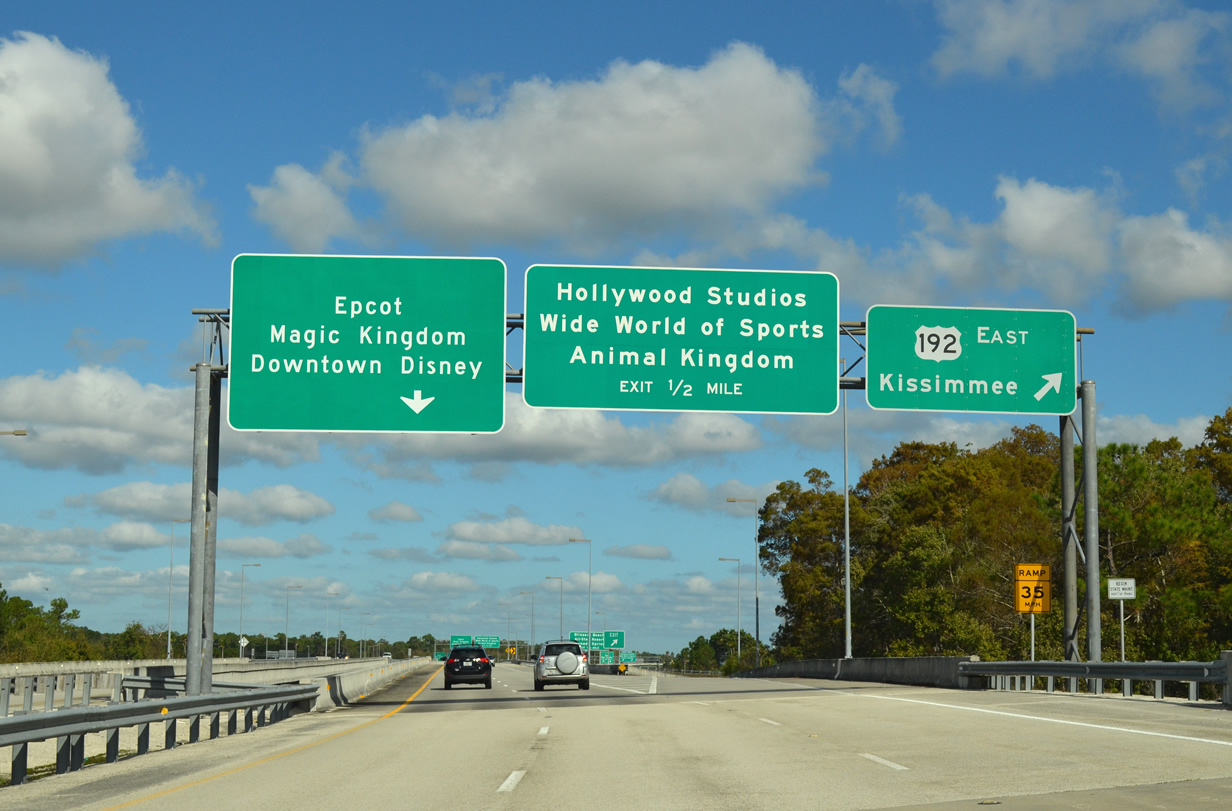 Entrance to Disney World Orlando