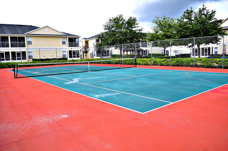 Grand Palms Kissimmee Tennis Court