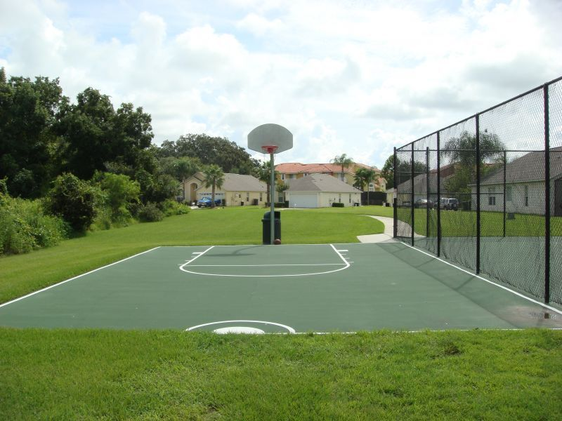 Lake Berkley Resort Basketball