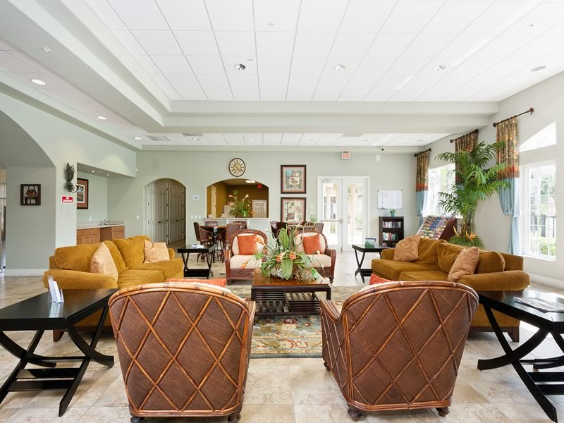 Oakwater Resort Clubhouse Lounge