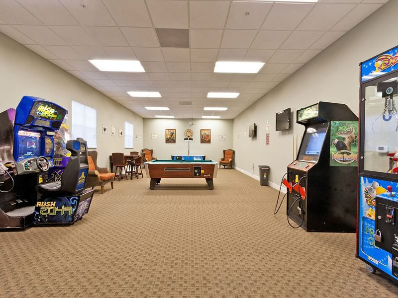 Oakwater Resort Games Room