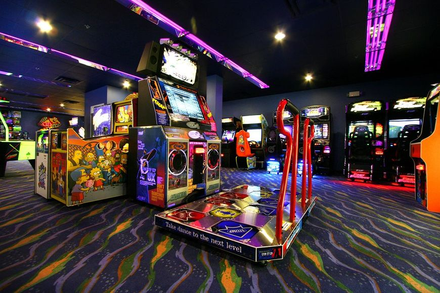 Orange Lake Resort Games Arcade