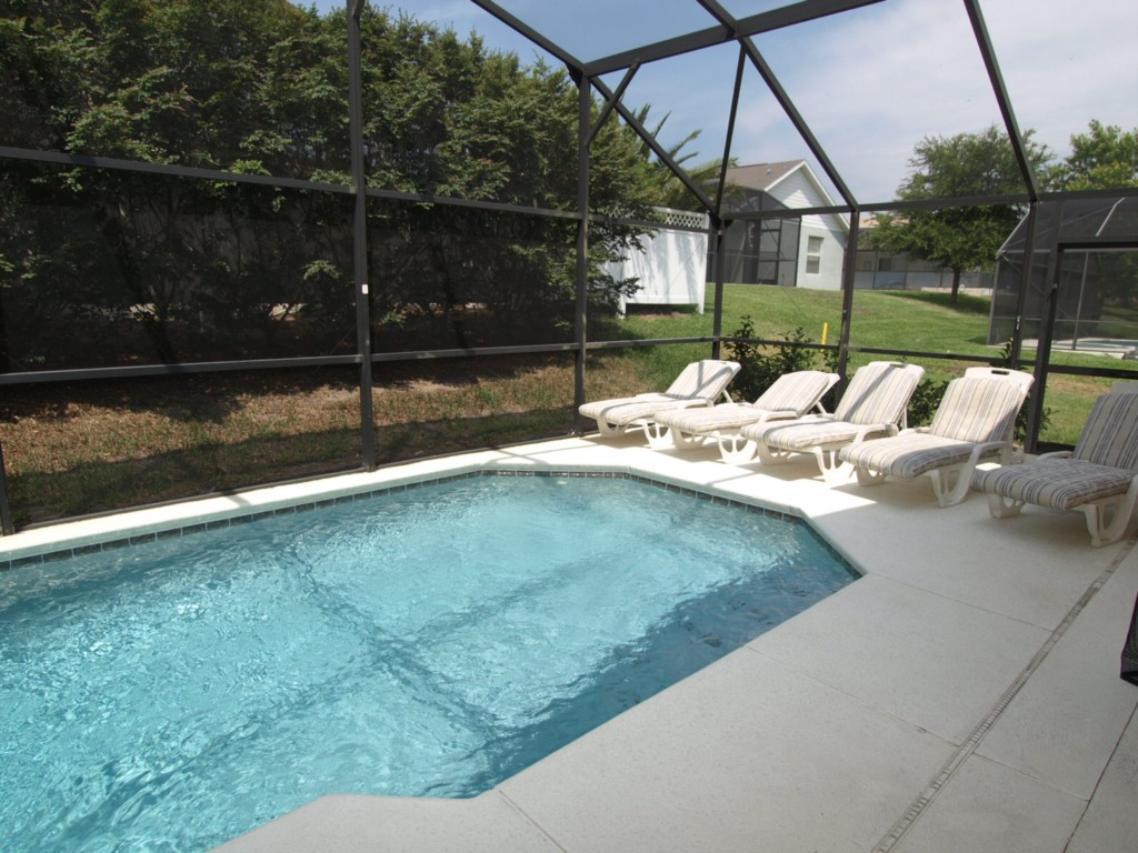 Orange Tree Home Pool