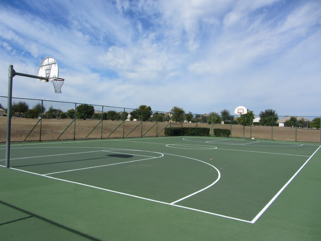 Orange Tree Basketball Court