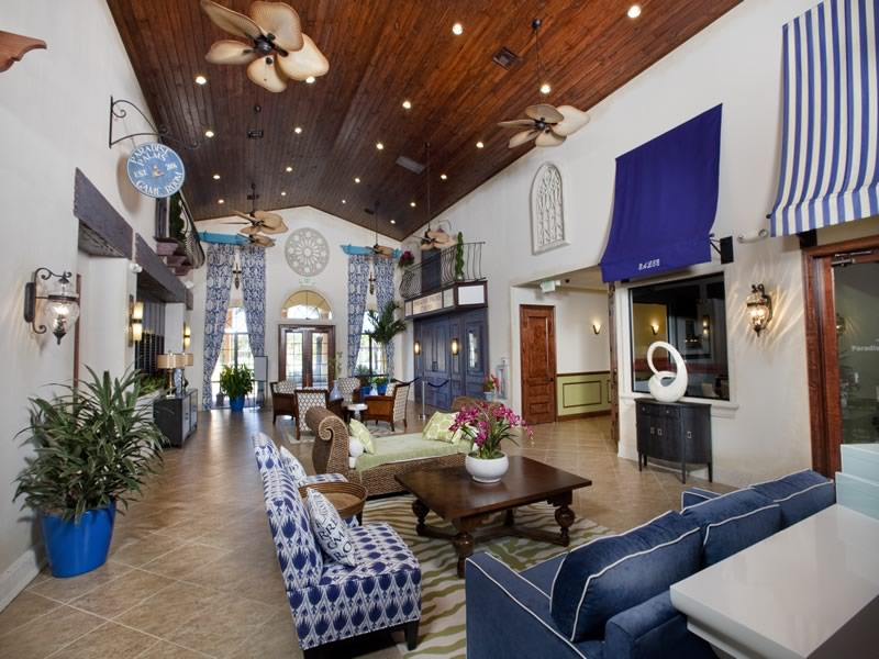 Paradise Palms Resort Clubhouse Lounge