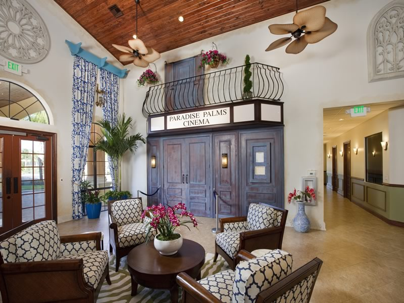 Paradise Palms Resort Movie Theatre