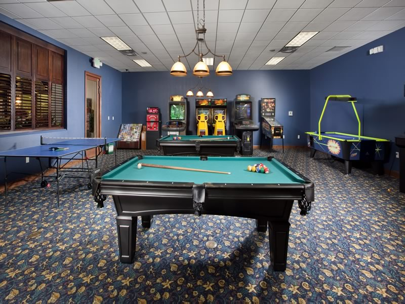 Paradise Palms Resort Games Room