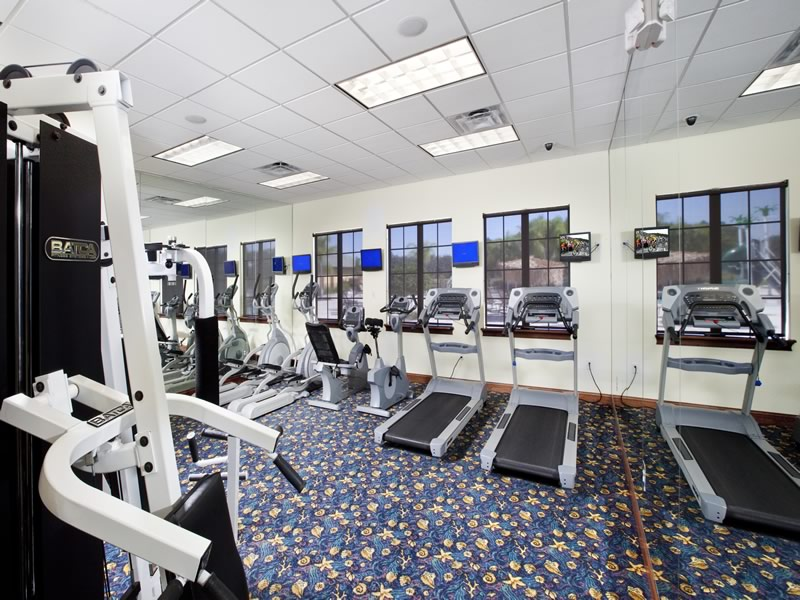 Paradise Palms Resort Fitness Facility