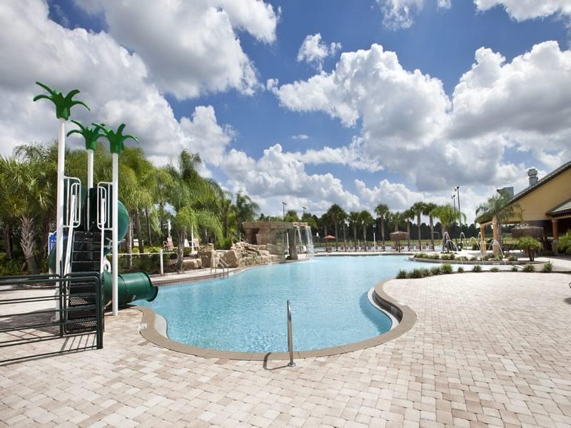 Paradise Palms Resort Pool Area