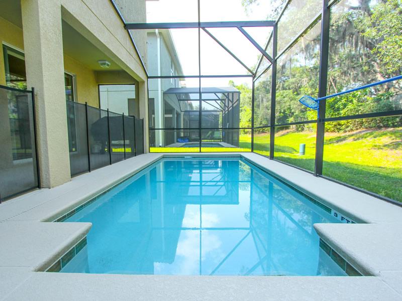 Paradise Palms Resort Home Pool