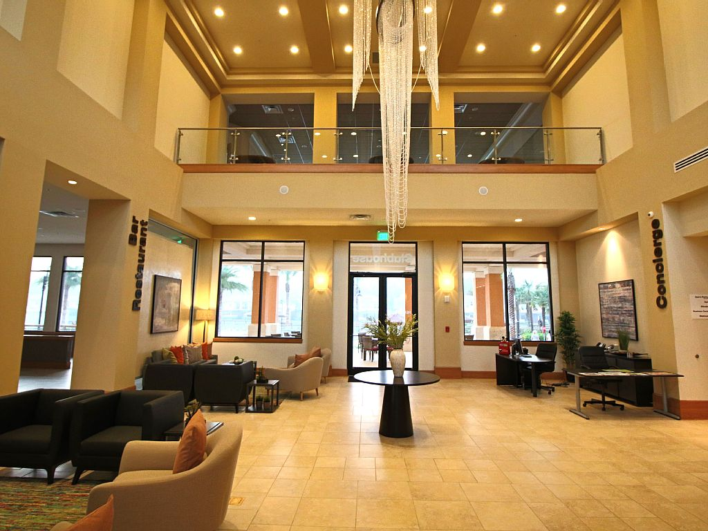 Regal Oaks Kissimmee Clubhouse Lobby