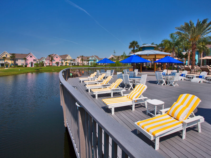 Runaway Beach Club Kissimmee Sundeck