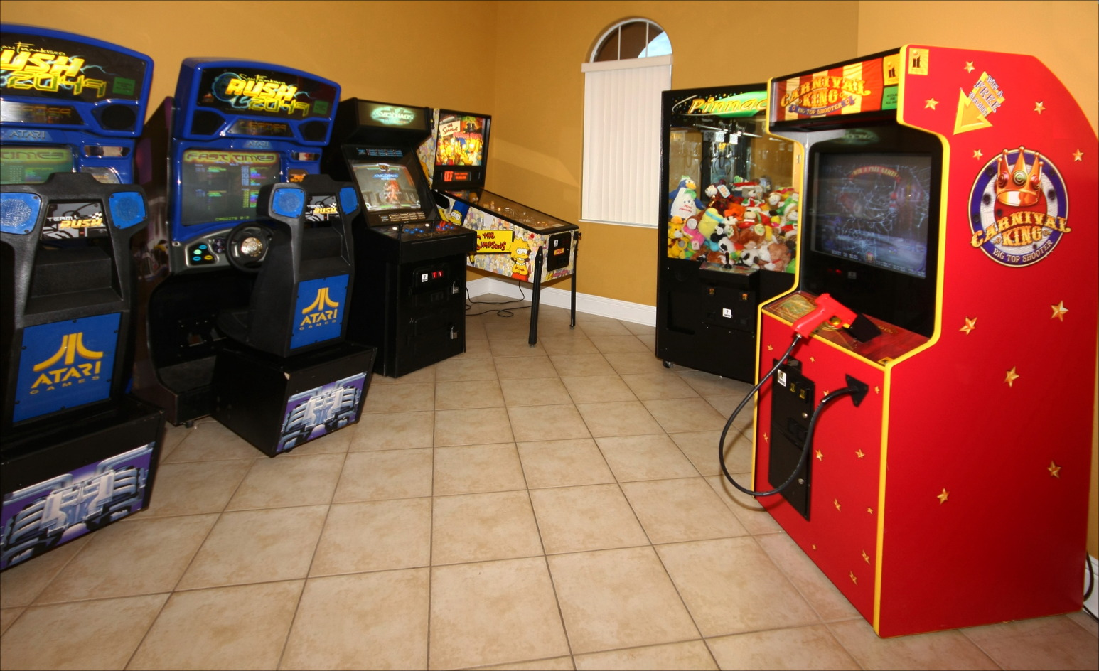 Solana Resort Video Arcade
