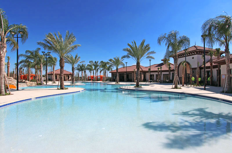 Solterra Davenport Clubhouse and Pool