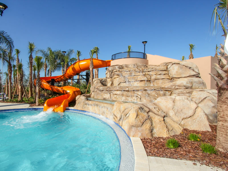 Solterra Resort Pool Water-slide