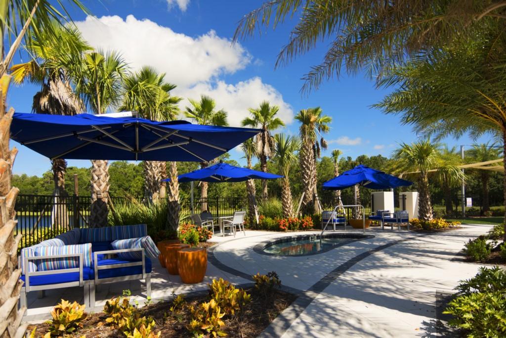 Sonoma Resort Jacuzzi