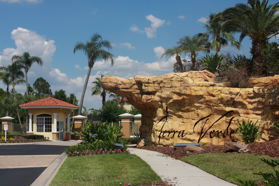 Terra Verde Resort Entrance