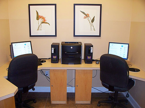 Terra Verde Resort Computer Room
