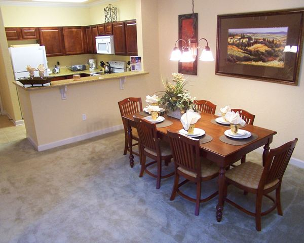 Tuscana Resort Condo Kitchen / Dining