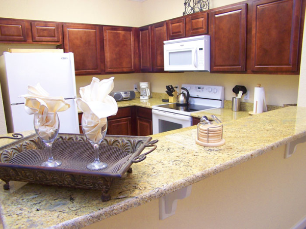 Tuscana Resort Condo Kitchen