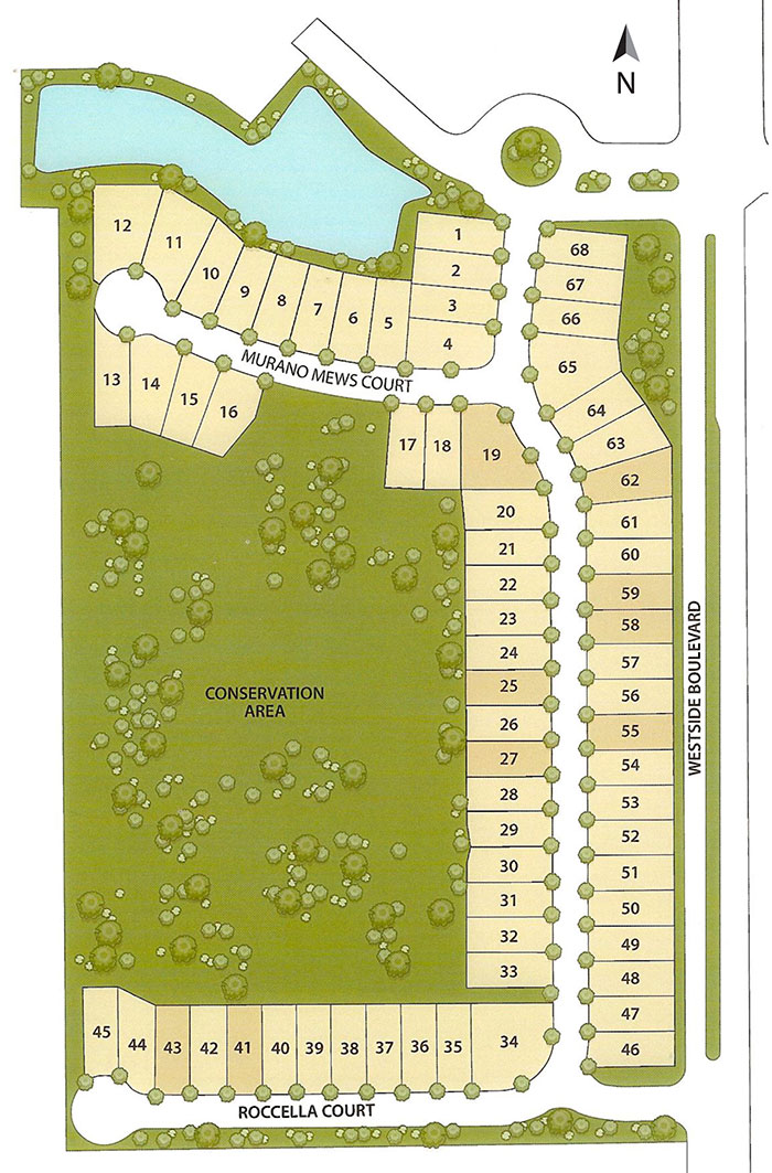 Tuscany at Westside, Kissimmee Site Plan