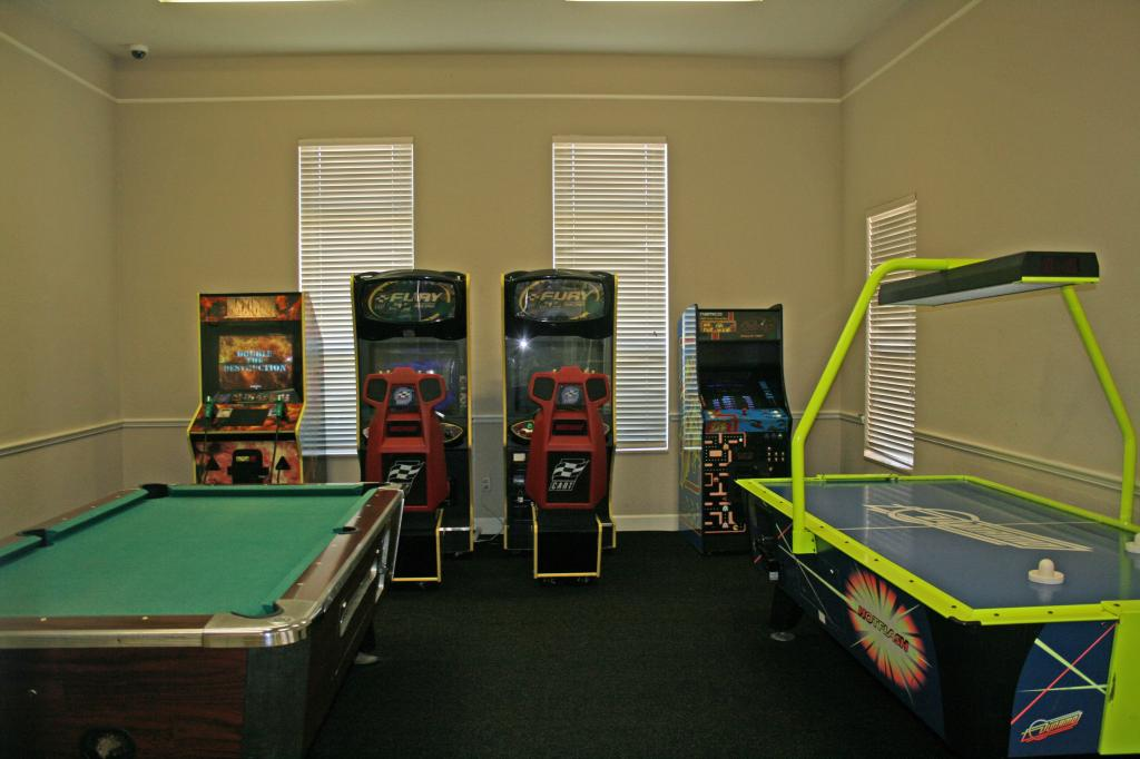 Venetian Bay Villages Games Room