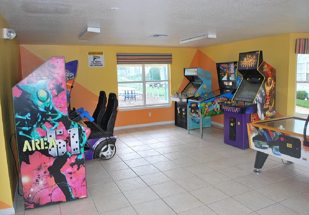 Villas at Island Club Games Arcade