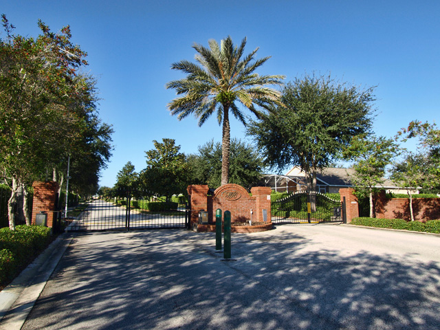 Weston Hills Clermont Entrance