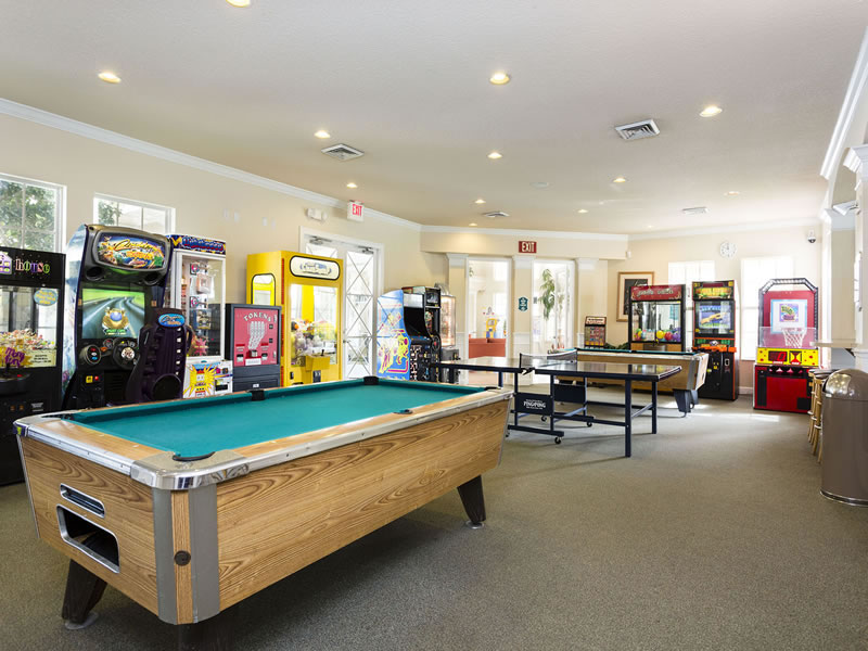 Windsor Palms Resort Games Room